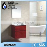 2015 design plastic iran pvc bathroom cabinet