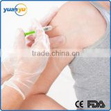 2016 Free samples Powdered and powder free disposable sensitive skin pvc gloves                                                                                                         Supplier's Choice