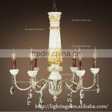 modern candle chandelier wood restaurant lamp rh loft antique staircase crafted warm rustic wooden beads wooden chandeliers