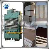 latest film faced plywood hydraulic hot press machine veneer hydraulic hot press machine