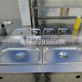 2014 Hot Selling Hot Dog Food Vehicle Cart with Steamer Pans XR-HD200 A