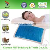 2016 Wholesaler China relax soft neck support sleep well cool gel latex pillow
