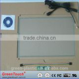 "15""5wire Resistive touch screen,ITO film to glass screen with 2.54pitch,5pin line 4:3"