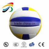 2015 new design machine stitched pvc beach volleyball