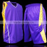 High Quality Team Sublimated Custom Basketball Uniform/Custom Basketball Uniforms/Mesh Reversible Jersey/Cheap Basket Ball wear.