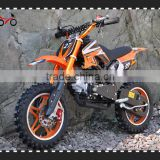 QWMOTO CE 50cc Gas mini kids dirt bike for sale cheap with colorful rims                                                                         Quality Choice
