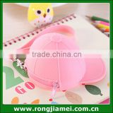 2016 New Style Newest Design Jelly Candy Color Baseball Cap Coin Bag For Girls