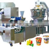 cup packaging machine for Noodle, Pasta, Dried Fruit, Snack, Candies, Chocolate, Powder, Food, Yogurt, Ice-Cream,Jelly,Vegetable