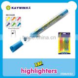 Highlighter marker with chisel tip item 552