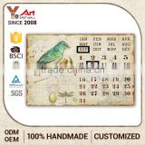 Top Seller Oem Calendar God Bless Our Home Plaque Art And Craft For Waste Materials Gifts