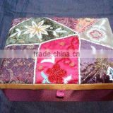 Designer Embroidered Handmade Beaded Fabric Photo Frames ~ Box ~Jewelery Boxes ~ Note Book