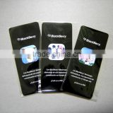 Customized Display Cleaner Sticker/Microfiber Adhensive Sticky Mobile Phone Screen Cleaner Wipe