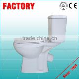 modern design western toilet home decoration ceramic toilet easy clean with toilet brush