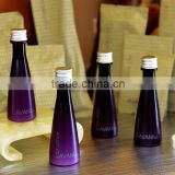 High quality empty pvc bottle for hotel shampoo shower gel body lotion/35ml empty tubes and bottles with aluminum cap