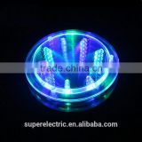 Unique design made in china cheap bar drink mats wholesale light up drink mats led light coaster