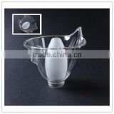 china supplier hanging wall flower shape mouth blown pyrex glass lamp shade ,best-selling home decoration glass lamp cover