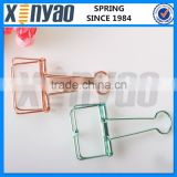 Colorful Wire Clips Hollow Binder Paper Clips