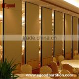 acoustic NBR seal folding screen wooden partition