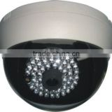 RY-8019 Surveillance Video&Audio Sharp Color CCD 48 IR LED Night Vision Dome CCTV Camera