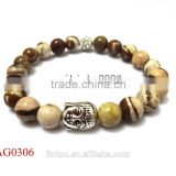 Alibaba china 2015 hot fashion jewelry Buddha bead bracelet wholesale, spirtual wooden bead bracelet