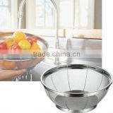 All Stainless Steel Wire Mesh Sink Colander For Home Kitchen Made In Japan