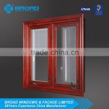 Australian standard manufacturer aluminium double casement window AS/NZS2047 AS/NZS2208 & AS/NZS1288