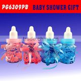 Cute baby design shower favor bottle for candy packaging gift