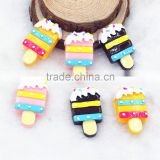 flat back resin icecream resin cabochons for phone case hair kids accessories DIY resin craft