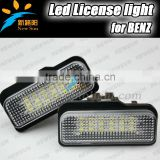 Auto Accessory Led Number License Plate Lamp For Benz W203(5D)Wanon W211 W219