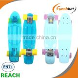 "Mini longboard 22"" outdoor sport skatrboard with four wheels"
