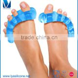 OEM/ODM OEM/ODM Silicone Toe Separators and Spreaders for Relieving Pain Associated with Bunions