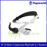 High End Noise Reduction Sweat Proof IF-18 Stereo Bone Conduction High Definition Music Bluetooth Headset