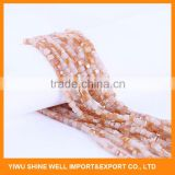 FACTORY DIRECTLY custom design crystal glass bead with many colors