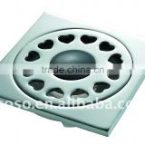 chrome color brass floor drain Z-303