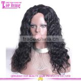 18 Inches Super Fine Swiss Lace Wig Factory Price Bleached Knots Full Lace Wig With Baby Hair