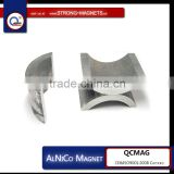 Arc magnet / AlNiCo magnet / cast Alnico / sintered Alnico / permanent magnet / strong magnets / rare earth magnet