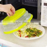Foldable Plastic Microwave Cover For Plates
