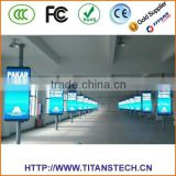 High Resolution LED Lamppost Display led outdoor display small led display