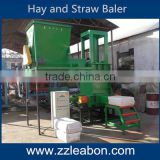 Competitive Price Mini Square Hay Balers / Sawdust Baler Machine for sale