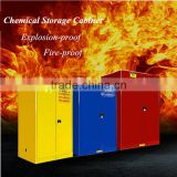 30gal Laboratory Use Fireproof Flammable Chemical Storage Cabinet , Chemical Safety Cabinet