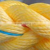 All kinds of pe / nylon/pp/polyester/cotton / 3-40 mm twisted / braided color high strength rope