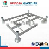 High quality metal tray mobile storage shelf post steel tire warehouse heavy duty pallet rack