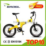 20 inch electric folding bike mountain electric bike full suspension mountain electric bike