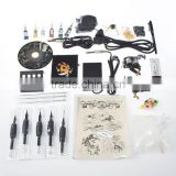 Starter Complete Tattoo Kit 2 Gun Supply Set Equipment Dunhuang Tattoo Machine Body Art