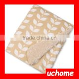 UCHOME China Manufacturer, Double Layer Muslin Swaddle Blanket, Super Soft Textile Plush Baby Blanket Wholesales.