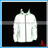 Autumn 3M Reflective Men/Women Outdoor Jacket,Hip Hop Outdoor Jogging Luminous Windbreaker Rain Jacket