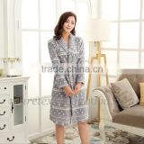 polyester beautiful robes for women night gowns bath robes