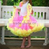 Children dance wear wholesale girls ballet dressees boutique baby orange pettiskrit little girls in short skirts