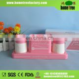 Hot sale plastic brush cup set