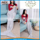 Soft Mermaid Blanket Fish Tail Sleeping Bags for Adults blankets in bedding